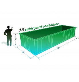 10 CUBIC YARD CAN