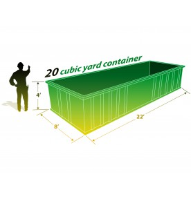 20 CUBIC YARD CAN