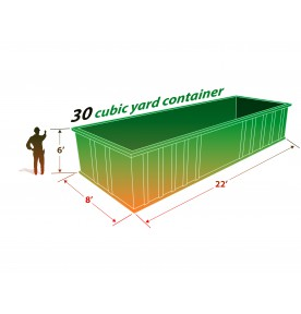 30 CUBIC YARD CAN