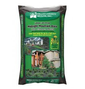 Bag Mulch: Black, Brown and Red