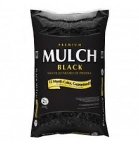 Bagged Black Hardwood Mulch