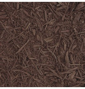 Mulch: Brown Dyed Double Shredded