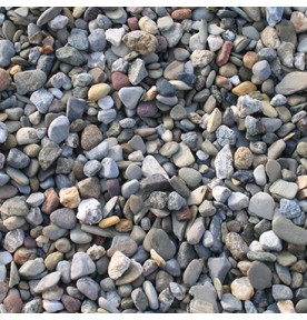 """Delaware River Stone: 3/4"""""""
