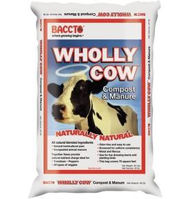 Wholly Cow: Compost & Manure Amendment (40 QT)