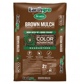 Bagged Dyed Brown Hardwood Mulch